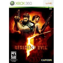 Resident Evil 5,burnout Revenge Y + Xbox 360 Licencia