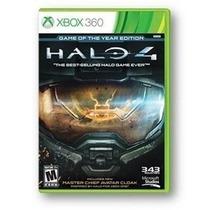 Halo 4 Edicion Del Año En Español Nuevo Y Sellado