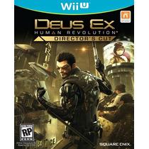 Deus Ex Human Revolution Nintendo Wii U Nuevo Y Sellado Hm4