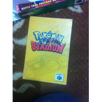 Manual Pokémon Stadium Con Caja Repro