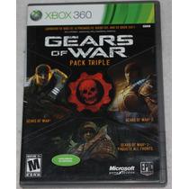 Videojuego Gears Of War Pack Triple. Xbox 360