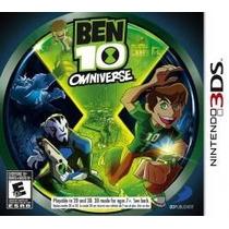 Ben 10 Omniverse 3ds Nuevo Entrega Express Citygame