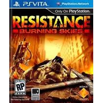 Resistance Burning Skies Ps Vita Nuevo De Fabrica Citygame