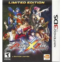 Project X Zone Limited Edition 3ds Nuevo Entrega Express