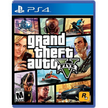 °° Grand Theft Auto V Gta 5 Para Ps4 °° En Bnkshop