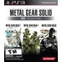 Metal Gear Solid Hd Collection Ps3 Nuevo Entrega Inmediata