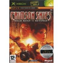 Crimson Skies High Road To Revenge Xbox Clasico Blakhelmet E