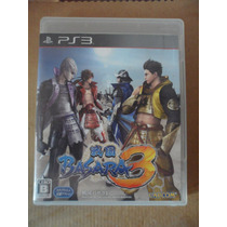 Ps3 Playstation Basara 3 Japones Anime Samurai Heroes Accion