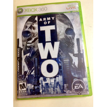 Juego Xbox 360 Army Of Two