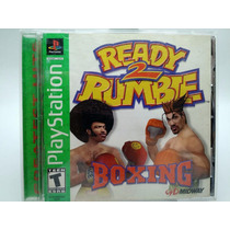 Ready 2 Rumble Boxing Playstation Ps1 Ps2 Ps3
