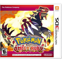 °° Pokemon Omega Ruby Para 3ds °° En Bnkshop