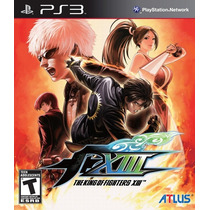 The King Of Fighters Xiii Con Soundtrack Ps3 Nuevo