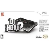 Dj Hero 2 Turntable Bundle Wii Nuevo Entrega Expres Citygame