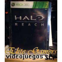 Halo Reach Edición Limitada De Colección Nuevo Y Sellado