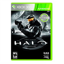 Juego De Xbox 360 Halo Anniversary Aniversario Nuevo - Disco