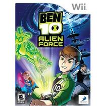 Ben 10 Alien Force Fuerza Alienigena Wii Nuevo Blakhelmet Sp