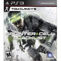 Splinter Cell Blacklist - Nuevo Sellado - Ps3