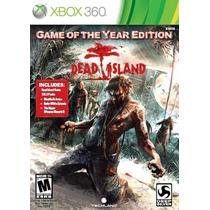 Dead Island Game Of The Year Xbox 360 Nuevo De Fabrica