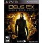 Deus Ex Human Revolution Ps3 Playstation 3 Nuevo Y Sellado