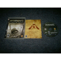 Resistance Fall Of Man Completo Para Play Station 3,checalo