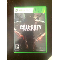 Call Of Duty Black Ops Y Call Of Duty World At War Xbox 360