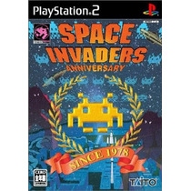 Space Invaders Anniversary Ps2 Japonesa
