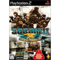 Socom 2 Us Navy Seals Ps2 Japonesa