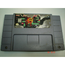 Super Nintendo Ms Pac-man