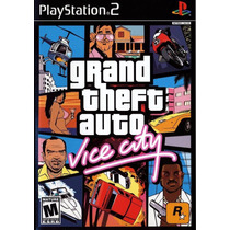 Grand Theft Auto Vice City Nuevo Sellado Playstation Ps2