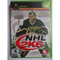 Nhl 2k6 Para Xbox Primera Generacion Gran Juego De Hockey