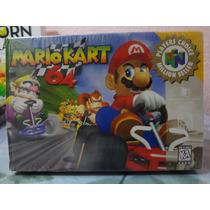 Solo La Caja Mario Kart 64 Como Nueva En Gamekiosko
