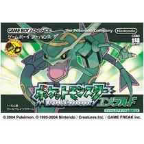 Pokemon Esmeralda Game Boy Advance Japones