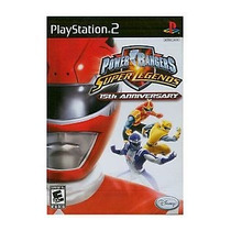 Power Rangers Super Legends 15th Anniversary Ps2