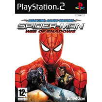 Spiderman Web Of Shadows Ps2 Hombre Araña