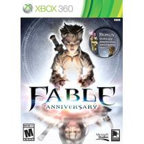 Fable Anniversary Xbox 360 Nuevo Entrega Express Citygame