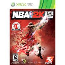 Nba 2k 12 Xbox 360 + Envio Gratis