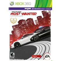 Need For Speed Most Wanted Xbox Nuevo
