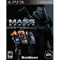 Mass Effect Trilogy Ps3 Nuevo Entrega Express Citygame