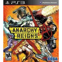 Anarchy Reigns Para Ps3. Sólo Venta