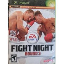Juego Fight Night Round 3 Usado Xbox Clasico Blakhelmet E