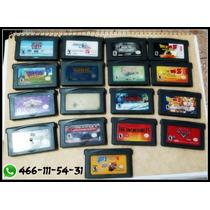 Juego Juegos Gameboy Advance Sp Como Nuevos Jalando Al 100
