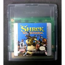 Shrek Ftfd Gameboy Gb En Excelente Estado Para Game Boy