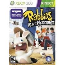 Rabbids Alive & Kicking Xbox 360 Nuevo Citygame