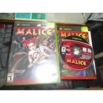 Malice Xbox Clasico 1ra Generacion