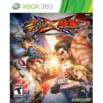 Street Fighter X Tekken Xbox 360 Nuevo Y Sellado Videojuego