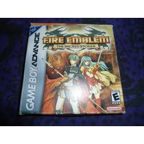 Fire Emblem Sacred Stones Not For Resale Gameboy Advance