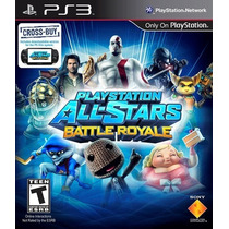 Ps3/vita All Star Battle Royale (acepto Mercado Pago Y Oxxo)