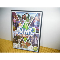 The Sims 3 - University Life Expansion Pack - Pc Y Mac