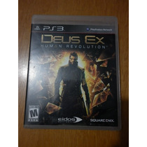 Deus Ex Human Revolution- Para Play Station 3