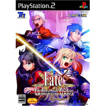 Fate Unlimited Codes Ps2 Japones